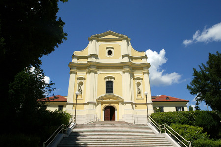 st  francis: St. Francis Xavier church, Zagreb