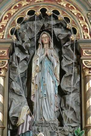 our: Our lady of Lourdes
