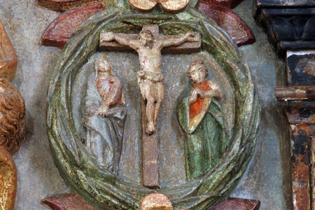 The Crucifixion, Mysteries of the Rosary