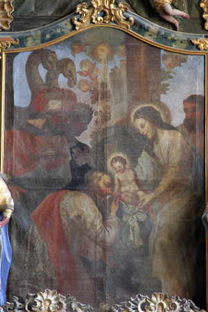 adoration: Nativity Scene, Adoration of the Magi