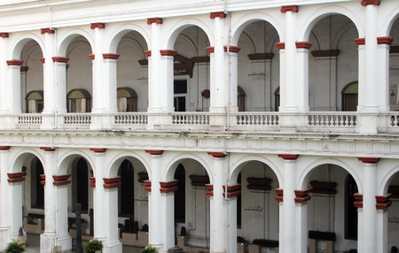 economic botany: The Indian Museum of Kolkata, India, on Nov 24, 2012. This was founded in 1814 and is the largest museum in India with rare collections of antiques