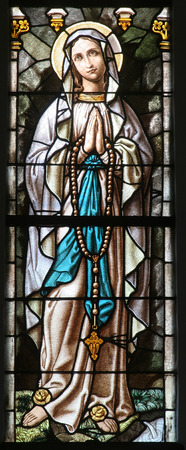 Virgin Mary Standard-Bild