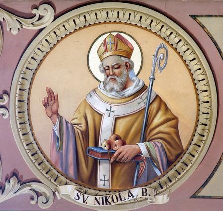 Sint Nicolaas Stockfoto
