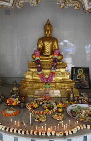 howrah: Buddhist temple in Howrah, West Bengal, India