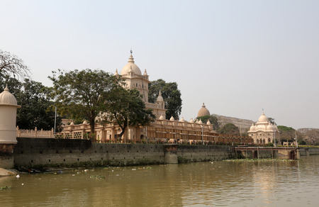 hooghly: Belur Math, headquarters of Ramakrishna Mission in Kolkata, founded by philosopher Vivekananda.