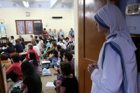 missionary: Sisters of Mother Teresa\ Editorial