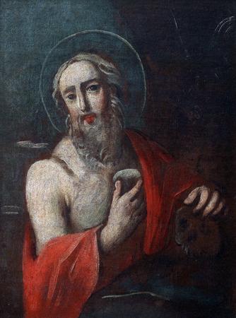 bible altar: Saint Jerome