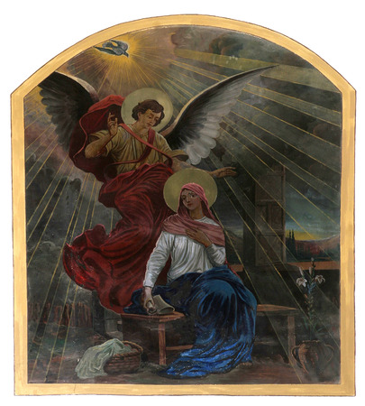 virgin: The Annunciation