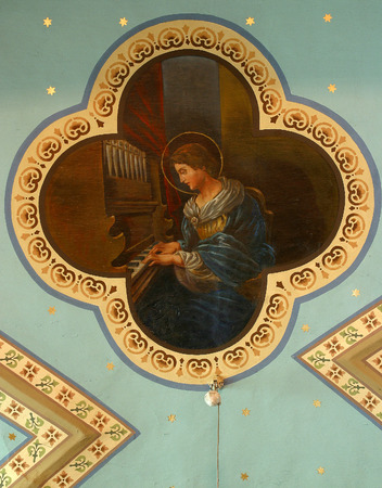 sainthood: Saint Cecilia