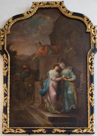 visitation: Visitation of the Virgin Mary Editorial