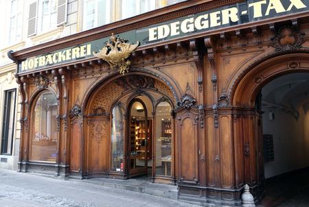 steiermark: Tax Court Bakery in Graz, Styria, Austria on January 10, 2015. Editorial