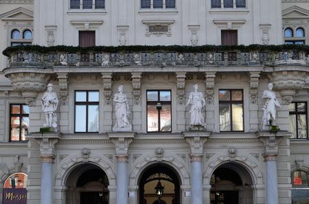steiermark: City Hall from Graz the capital city of Styria in Austria on January 10, 2015. Editorial