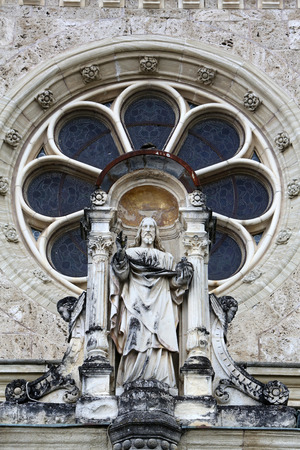 mary mother of jesus: Jesus Christ Almighty, basilica Assumption of the Virgin Mary in Marija Bistrica, Croatia