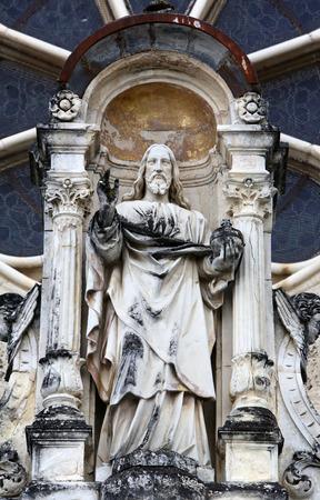 almighty: Jesus Christ Almighty, basilica Assumption of the Virgin Mary in Marija Bistrica, Croatia,