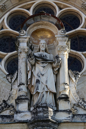 almighty: Jesus Christ Almighty basilica Assumption of the Virgin Mary in Marija Bistrica Croatia