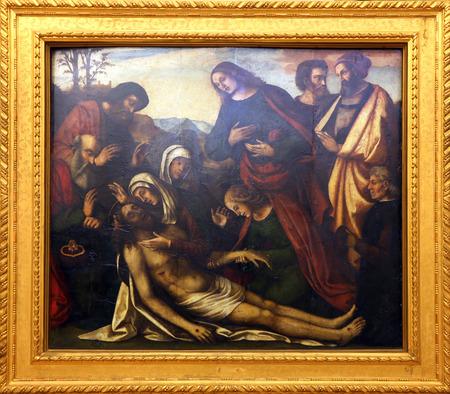 lamentation: Benedetto Coda: Compianto di Cristo, Old Masters Collection, croato Accademia delle Scienze, 8 dicembre, 2014 a Zagabria, Croazia