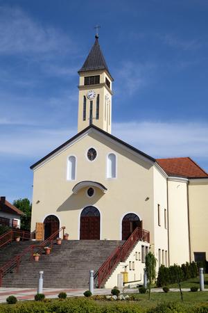 francis: Church of Saint Francis of Assisi in Lipik, Croatia on May 07, 2015