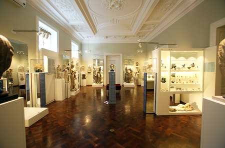 downtown capitol: Archaeological Museum in Zagreb, Croatia Editorial