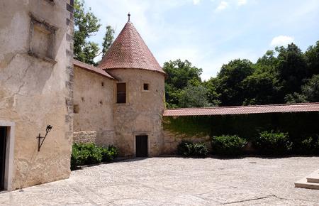 Otocec Castle, near Novo Mesto town, Lower Carniola region, Otocec, Slovenia Redakční