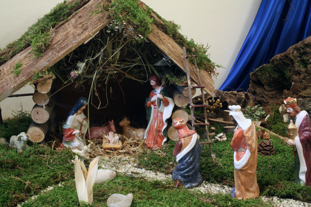 lamb of god: Nativity Scene