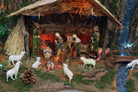 mary mother of jesus: Nativity Scene