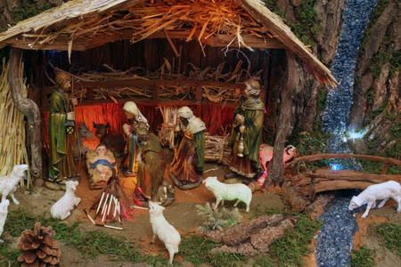 lamb of god: Christmas mangers