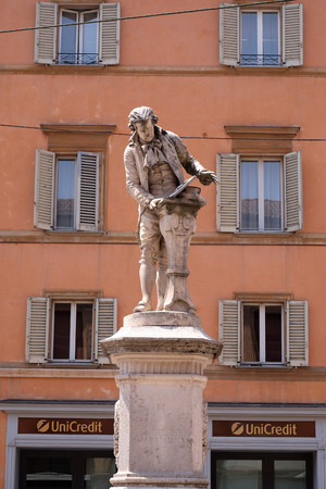 physiologist: Monument of Luigi Galvani, Italian physician, physicist and philosopher in Bologna, Italy