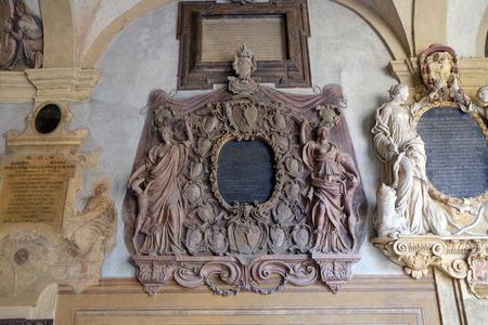 atrium: External atrium of Archiginnasio, Bologna, Italy