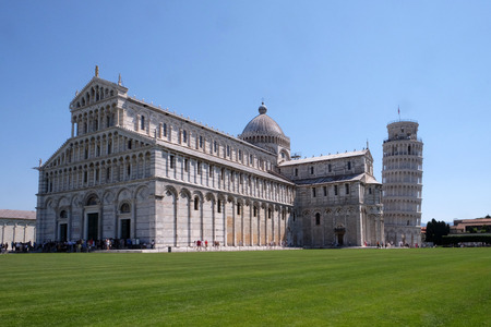 miracoli: Cathedral St. Mary of the Assumption in the Piazza dei Miracoli in Pisa, Italy.