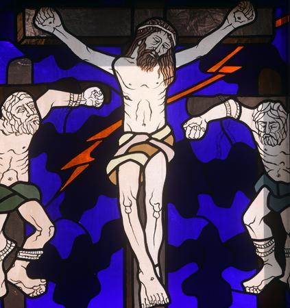 12. Kreuzweg, Jesus stirbt am Kreuz
