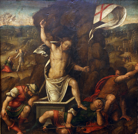 apostles: Master of the Twelve Apostles: Resurrection , Old Masters Collection, Croatian Academy of Sciences in Zagreb, Croatia