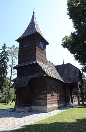 barbara: Church of the Saint Barbara in Velika Mlaka, Croatia Stock Photo