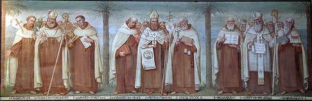 sainthood: Carmelite Saints, The Church Stella Maris, Haifa, Israel