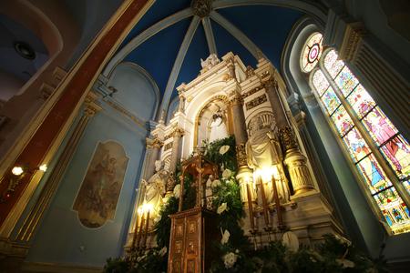Basilica Assumption of the Virgin Mary in Marija Bistrica, Croatia Editorial