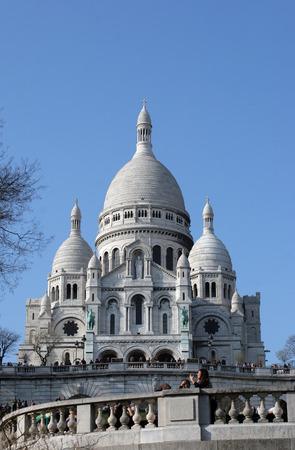 sacre: Sacre Coeur church in Paris, France