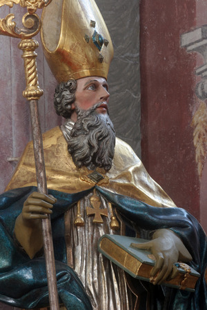 saint: Statue of saint