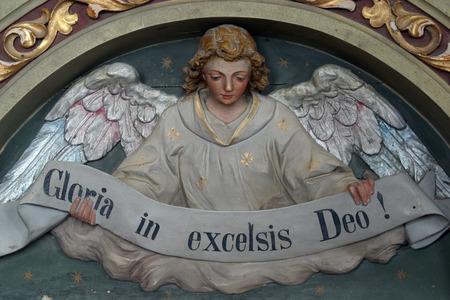 gloria: Heavenly Angel declaring Gloria in excelsis Deo!