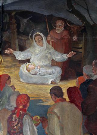 Nativity Scene, Birth of Jesus