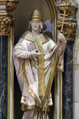 saint: Saint Fabian, Zagreb cathedral