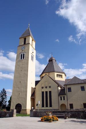 Parish church of the Holy Trinity in Krasic, Croatia