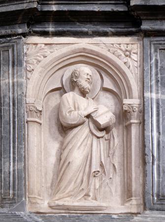 minor: Saint Paul, altar in Franciscan church of the Friars Minor in Dubrovnik, Croatia