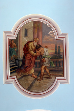 homily: The Return of the Prodigal Son