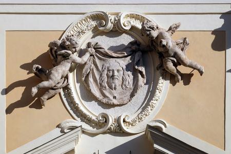 Velo della Veronica, Basilica di San Silvestro il primo (San Silvestro in Capite) a Roma, Italia