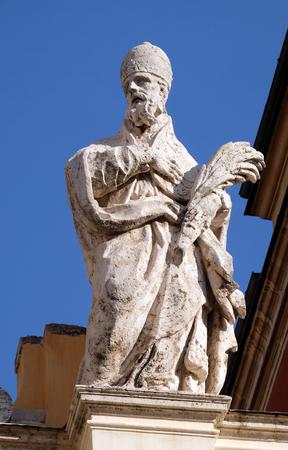 Santo Stefano, Basilica di San Silvestro Primo (San Silvestro in Capite) a Roma, Italia