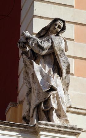 Santa Chiara, Basilica di San Silvestro Primo (San Silvestro in Capite) a Roma, Italia