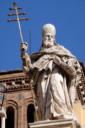 San Silvestro, Basilica di San Silvestro Primo (San Silvestro in Capite) a Roma, Italia