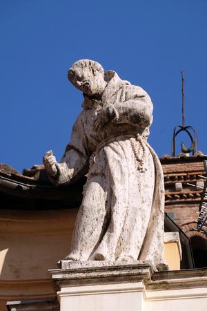 San Francesco, Basilica di San Silvestro il primo (San Silvestro in Capite) a Roma, Italia