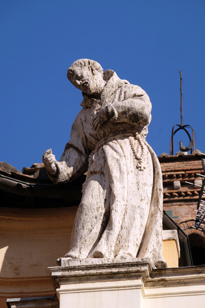 Saint Francis, Basilica of Saint Sylvester the First (San Silvestro in Capite) in Rome, Italy
