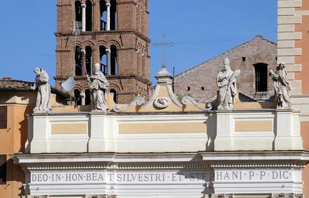 Basilica di San Silvestro Primo (San Silvestro in Capite) a Roma, Italia