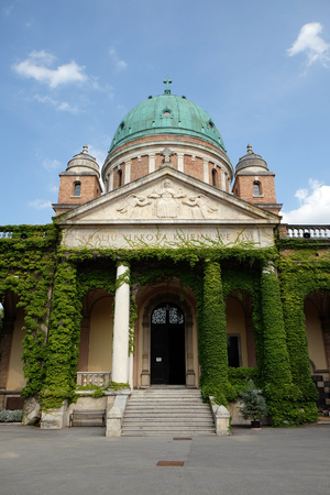 Church of Christ the King, Mirogoj cemetery in Zagreb, Croatia